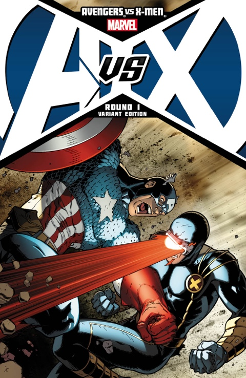 AVENGERS vs X-MEN Portada Alternativa