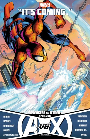 Teaser SPIDERMAN vs ICEMAN